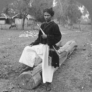 Man of the Kachin Tribe, Upper Burma, 1908