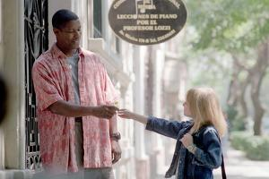MAN ON FIRE by Tony Scott with Denzel Washington, Dakota Fanning (photo)