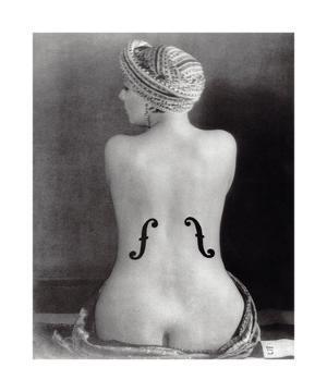 Le Violon dIngres by Man Ray