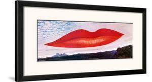 Lips (Heure de l'Observatoire) by Man Ray