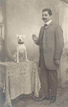 Man with Terrier