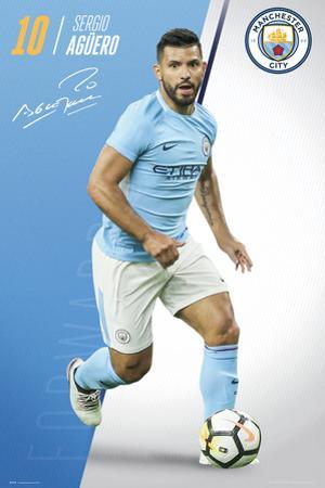 Manchester City - Aguero 17/18