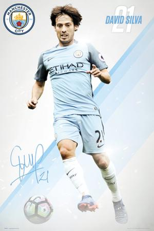 Manchester City- David Silva 16/17