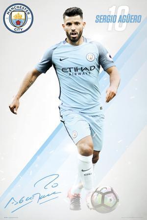 Manchester City- Sergio Aguero 16/17