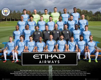 Manchester City- Team Photo 16/17