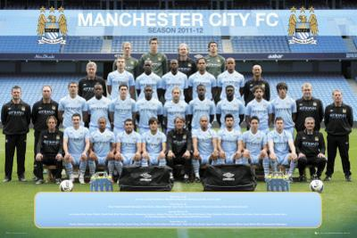 Manchester City-Team Photo 2011-2012