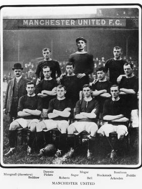 Manchester United Football Team, 1905-6 Season