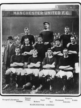 Manchester United Football Team, 1905-6 Season
