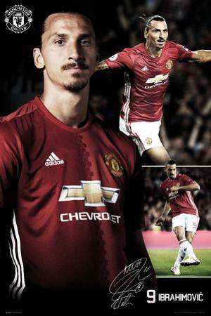 Manchester United - Ibrahimovic Collage