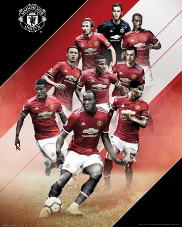 Manchester United - Players 17/18
