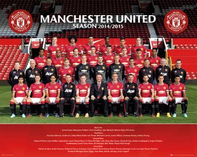 Manchester United Team 14/15