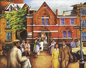 City Church Gathering by Mancusi