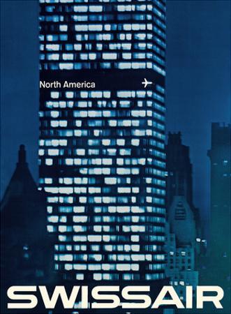 North America - SwissAir by Manfred Bingler