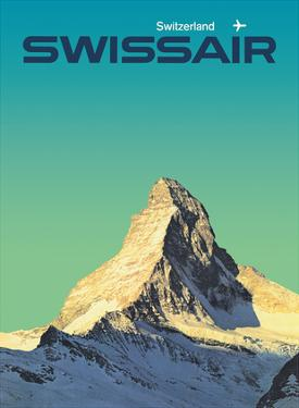 Switzerland - SwissAir - Matterhorn by Manfred Bingler