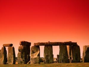 Stonehenge at Sunrise, Stonehenge, United Kingdom by Manfred Gottschalk