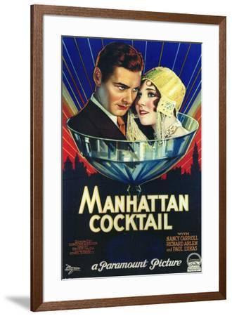 Manhattan Cocktail--Framed Poster