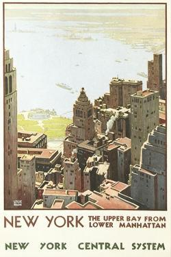 Manhattan Travel Poster