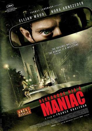 Maniac (Elijah Wood, Nora Arnezeder, America Olivo) Movie Poster
