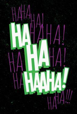 Maniacal Laugh (Green & Purple)