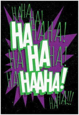 Maniacal Laugh Purple Shout Out