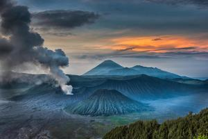Mount Bromo Volcano, East Java, Indonesia by Manish