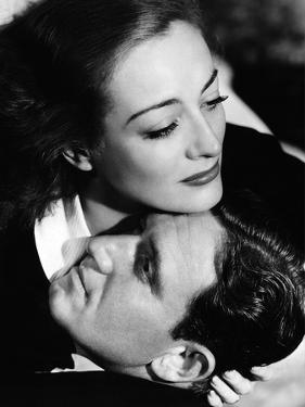 MANNEQU 1938 directed by FRANK BORZAGE Spencer Tracy and Joan Crawford (b/w photo)