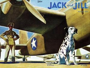 Military Dog - Jack and Jill, November 1942 by Manning de V. Lee