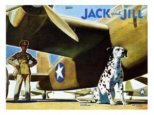 Military Dog - Jack and Jill, November 1942 by Manning de V. Lee