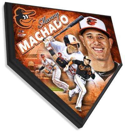 Manny Machado Home Plate Plaque