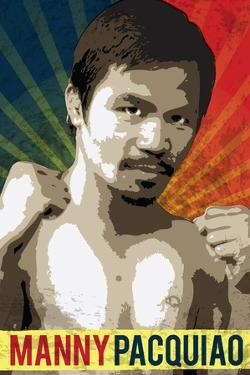 Manny Pacquiao Pacman Boxing Sports Plastic Sign
