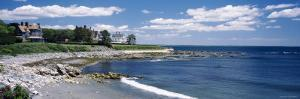 Mansion at a Coastline, Newport, Newport County, Rhode Island, USA