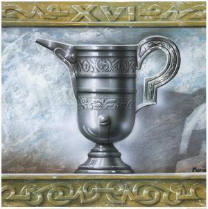 Greek Vase I by Manso