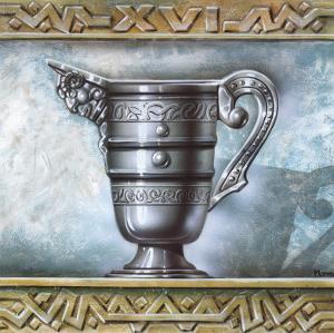 Greek Vase II by Manso