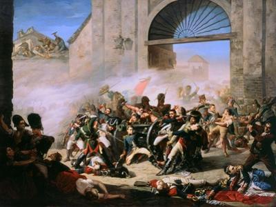 The Death of Daoiz by Manuel Castellano