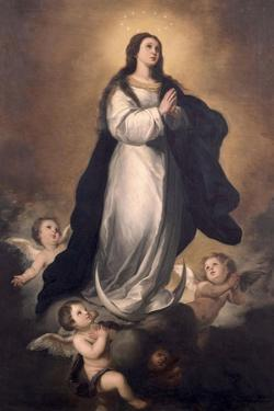 The Immaculate Conception by Manuel Gomez Moreno Gonzalez