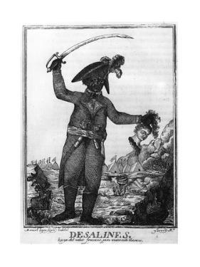 Jean Jacques Dessalines, a Leader of the Haitian Revolution, 1806 by Manuel Lopez