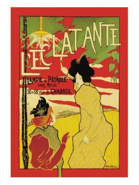 L'Eclatante, The Brilliant Lamp by Manuel Robbe