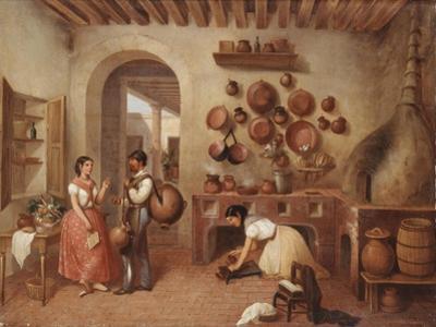 In the Kitchen of the Hacienda