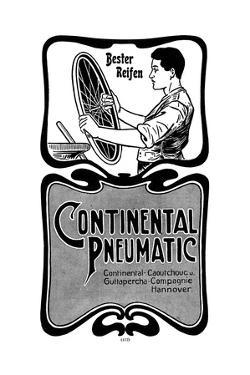 Manufacture of Continental Pneumatic Tyres, 1900