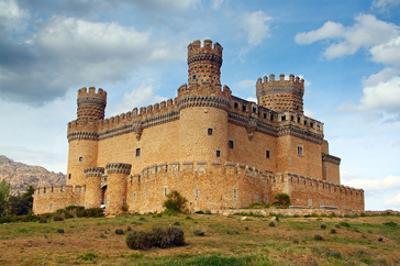 Manzanares Real Castle Spain