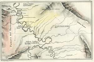 Map 1869 Peru