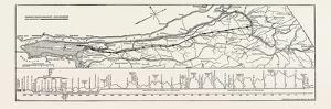 Map and Profile of the New Aqueduct