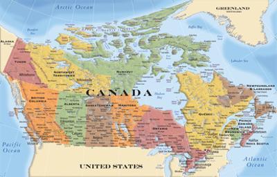 Map - Canada 17