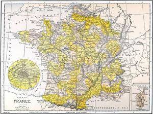 Map: France