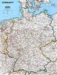 Affordable Maps of Germany Posters for sale at AllPosters.com
