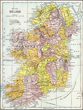 Map: Ireland, C1890