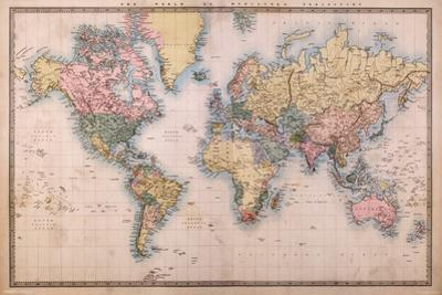 Map - Mercators Projection