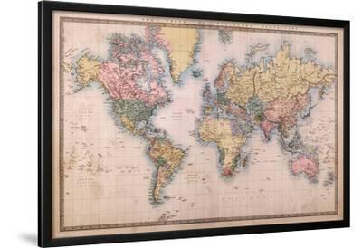 Map - Mercators Projection