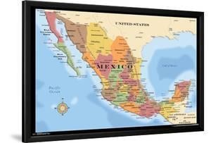MAP - MEXICO 17