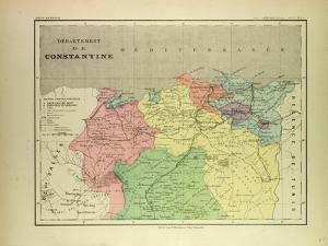 Map of a Part of Algeria